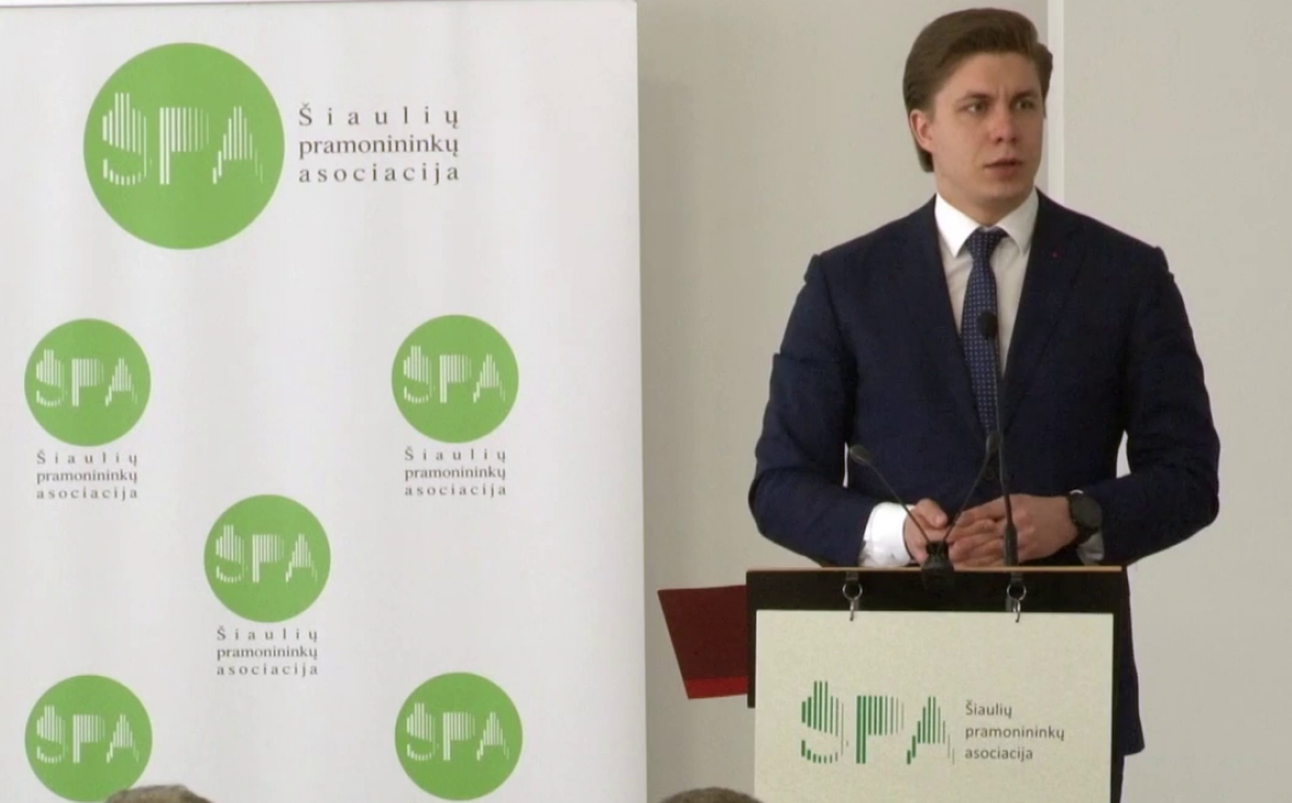 Kasmetinis Šiaulių pramonininkų asociacijos ataskaitiniame susirinkime dalyvavo ir LR Ūkio ministras