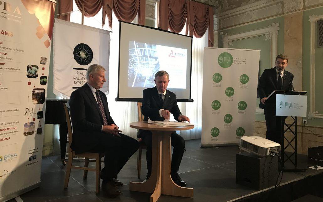 Šiaulių pramonininkų asociacija pasirašo bendradarbiavimo sutartį su Lietuvos inžinerinės pramonės asociacija (LINPRA).